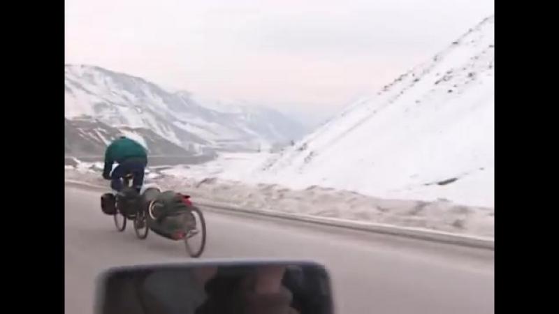 Göran Kropp downhill Turkey
