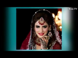 Watch 14 pakistani unmarried actresses with their bridal look