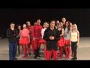 Привет 👋 и пожелания от шоу-балета 🕺💃 Аллы Духовой «Тодес»👍
