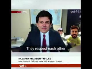 Toto Wolff interrupted during a live interview with WTF1