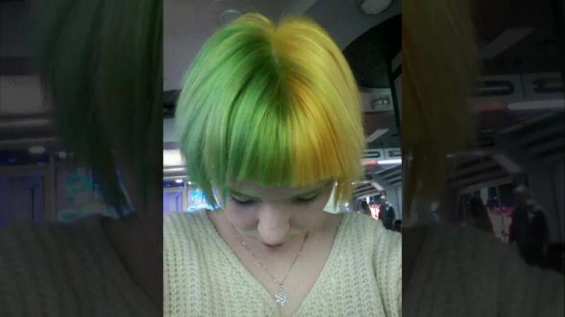 MIFI COLOR-HAIR / estel xtro / split hair