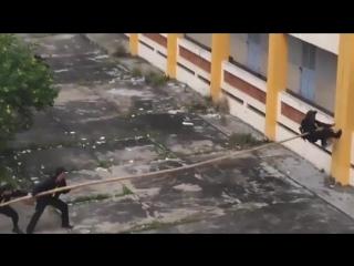 Необычный способ подъёма