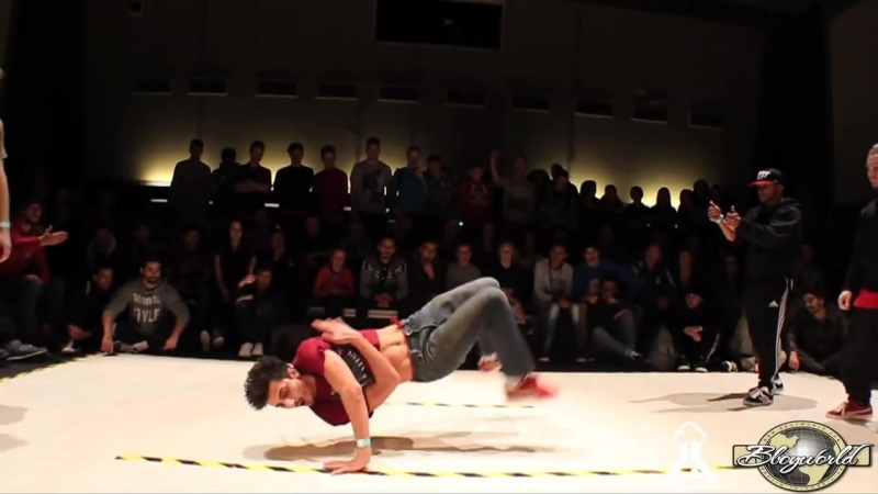 GUN BELKA vs KAREEM LIL KEV (LCB BATTLE 2012) WWW.BBOYWORLD.COM