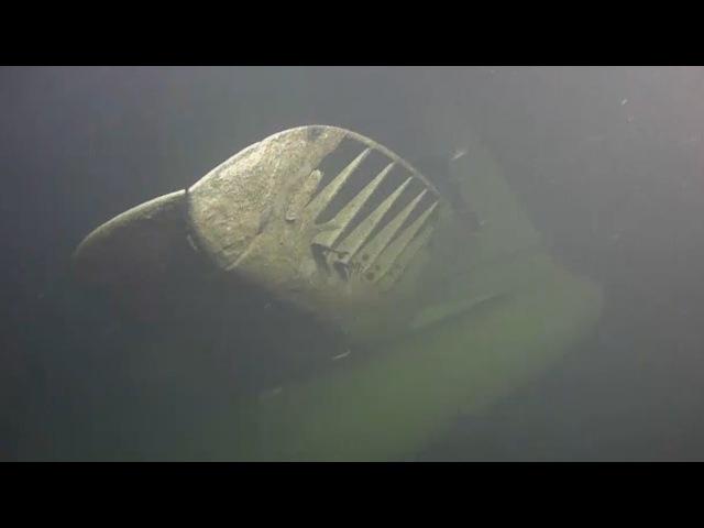 Американский бомбардировщик залег на дно Финского залива