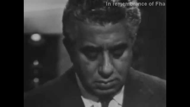 Khachaturian plays Andantino (rare video)