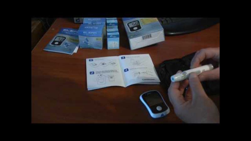 Глюкометр Exactive Easy из Китая