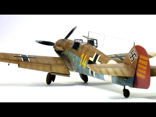 Messerschmitt Bf 109F-4 Eduard 1:48 Hans-Joachim Marseille Step by Step www.ritmonexx.ru/Samolet-bf-109f4-profipack-p-37724.html