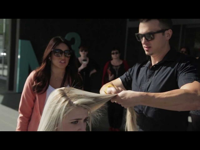 Episode 2 - Tease by Axis Hairdressing - Cool short haircuts and a crazy idea!