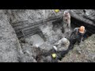 HD Time lapse 3 Раскопки Блиндажа \ Excavations of German dugout