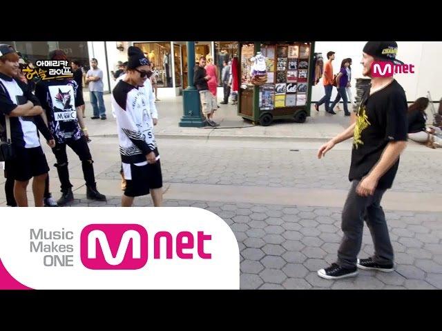 [BTS의 아메리칸허슬라이프] Ep.1 미공개영상 방탄소년단 제이홉 vs 미국 거리의 댄