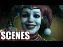 INJUSTICE 2 All Harley Quinn Scenes Story Mode
