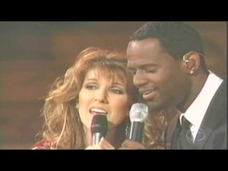 Celine Dion ft Brian McKnight ~ The Beauty And The Beast ~ Live 2002 CBS Special @ Kodak Theatre, Lo