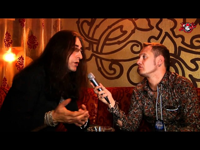 Royal Hunt - Andre Andersen interview (Moscow), 20.04.2011