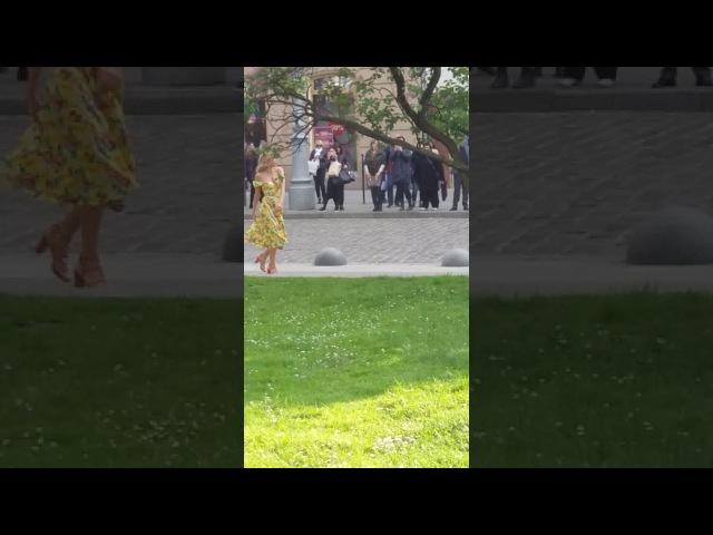 Съёмки клипа Веры Брежневой на песню «Близкие люди»
