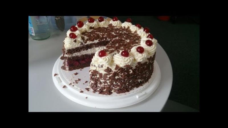Schwarzwälder-Kirschtorte /Purzel-cake
