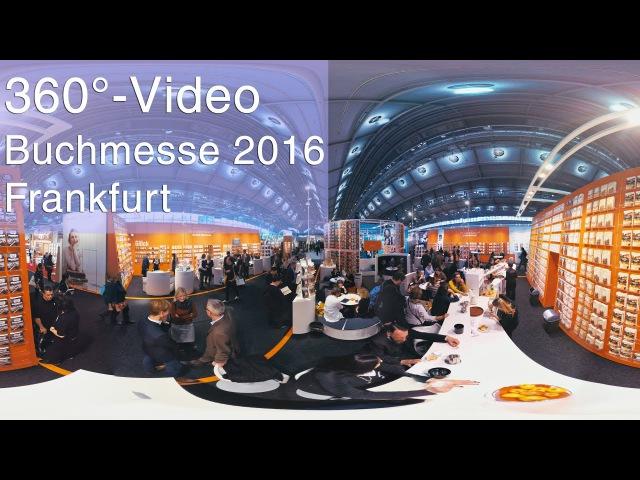 Frankfurter Buchmesse 2016 Virtual Reality Frankfurt | 360°-Video | Filmproduktion | Videoproduktion