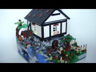 LEGO Custom MOC - Mountain Cottage