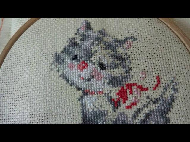 Вышивка для начинающих 2 ЧАСТЬ с чего начать Cross stitch for beginners