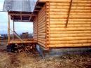 Деревянный дом из сруба часть 2 Внешняя отделка дома Покраска дома