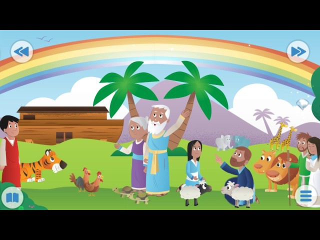 Библия для детей. Игра мультик. Развивающие мультфильмы для детей ВСЕ СЕРИИ ПОДР...
