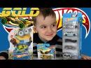 Хот Вилс распаковка машинок авария с Золотой машинкой Hot Wheels cars unboxing and play