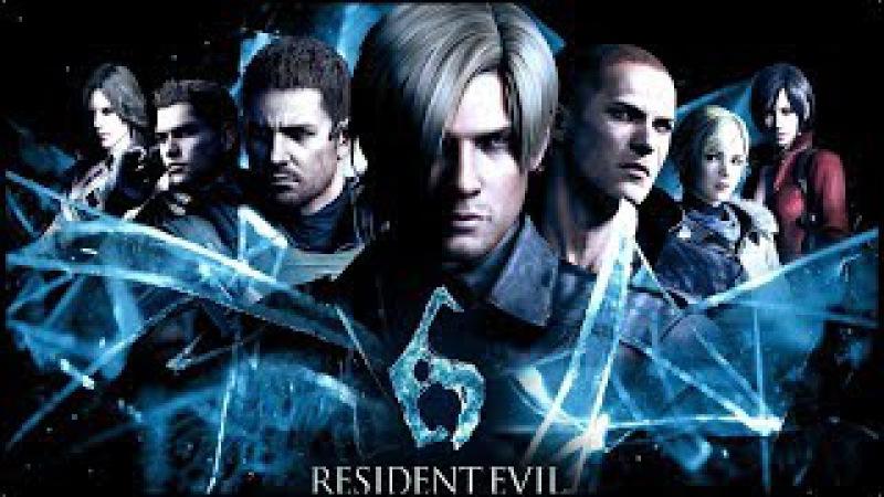 Resident Evil 6 - прохождение за Криса №8