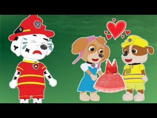 Paw Patrol Full Episodes English 1 #Pups Save Animation Movies #Nursery Rhymes & Groovy The Martian