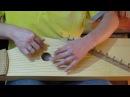 гусли Кружовник(12-13струн),Школа игры.Урок 2 (мажорные-минорные аккорды)