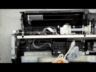 Разборка Epson L110 (Disassemble the Epson L110)