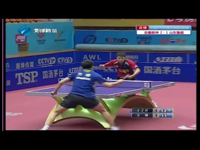 2016 China Super League: YU Ziyang vs FANG Bo [Full Match/Chinese|HD]