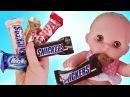 Куклы Пупсики Кушают Шоколад Песенка Пальчики Цвета Играем в Игрушки Мультик дл...