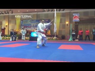 FINAL Male Kata ZARESTA YUDA AHMAD ZIGI vs LIM CHEE WEI - SEAKF 2016
