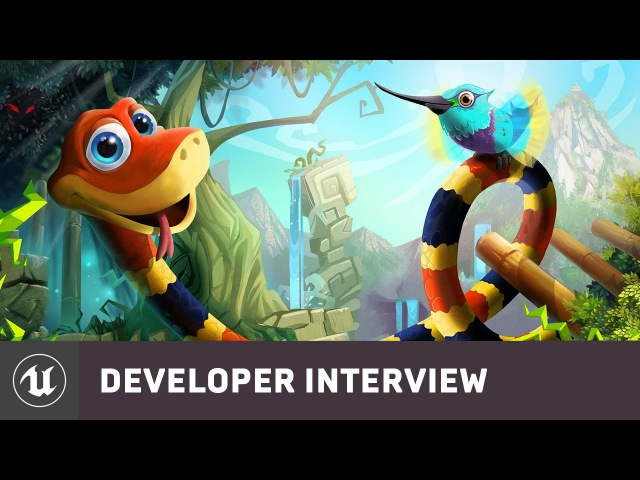Snake Pass by Sumo Digital | Rezzed 2017 Developer Interview | Unreal Engine