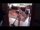 Двойняшки и пылесос / Twins vs a vacuum cleaner