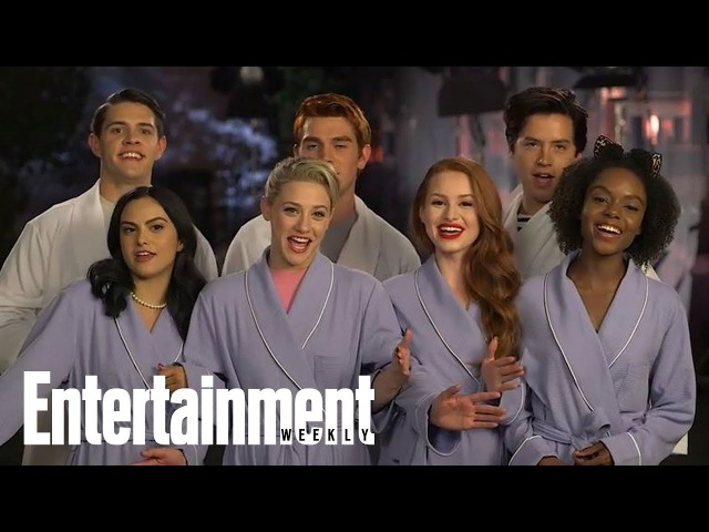 The Winner Of EW's Fall TV Cover Battle Is...Riverdale! | Cover Shoot | Entertainment Weekly