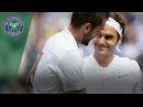 Roger Federer v Marin Cilic highlights Wimbledon 2017 final