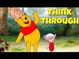 Фразовый глагол to THINK THROUGH из мультфильма Winnie The Pooh