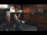 Joe Rogan Strength Training Pad Work - Muscle Madness