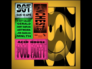 BR x WHP x Fac 51 Hacienda: The Other Side of Midnight Acid House Pool Party