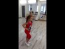 Бально-спортивные танцы:) ча-ча-ча. На занятии.