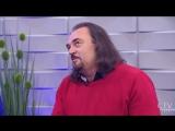 Вадим Косенко и Жанна Пивоварова в программе «Утро. Студия хорошего настроения» (2)