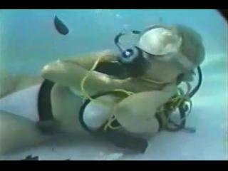 White bikini girl drowns