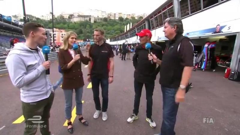 FIA Formula E - Tune into Chat-E, live from the pitlane in...