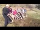 Как копать огород без трактора