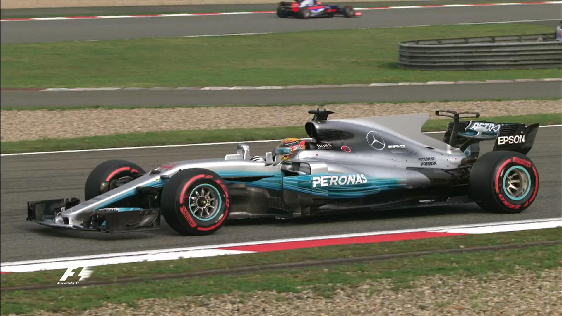 «Формула-1» вШанхае. Хэмилтон одержал победу квалификацию, Квят опередил конкурента