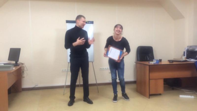 Вручение сертификата нашей любимой спортсменке-чемпионке-красавице - Ирине Заблудиной⭐️