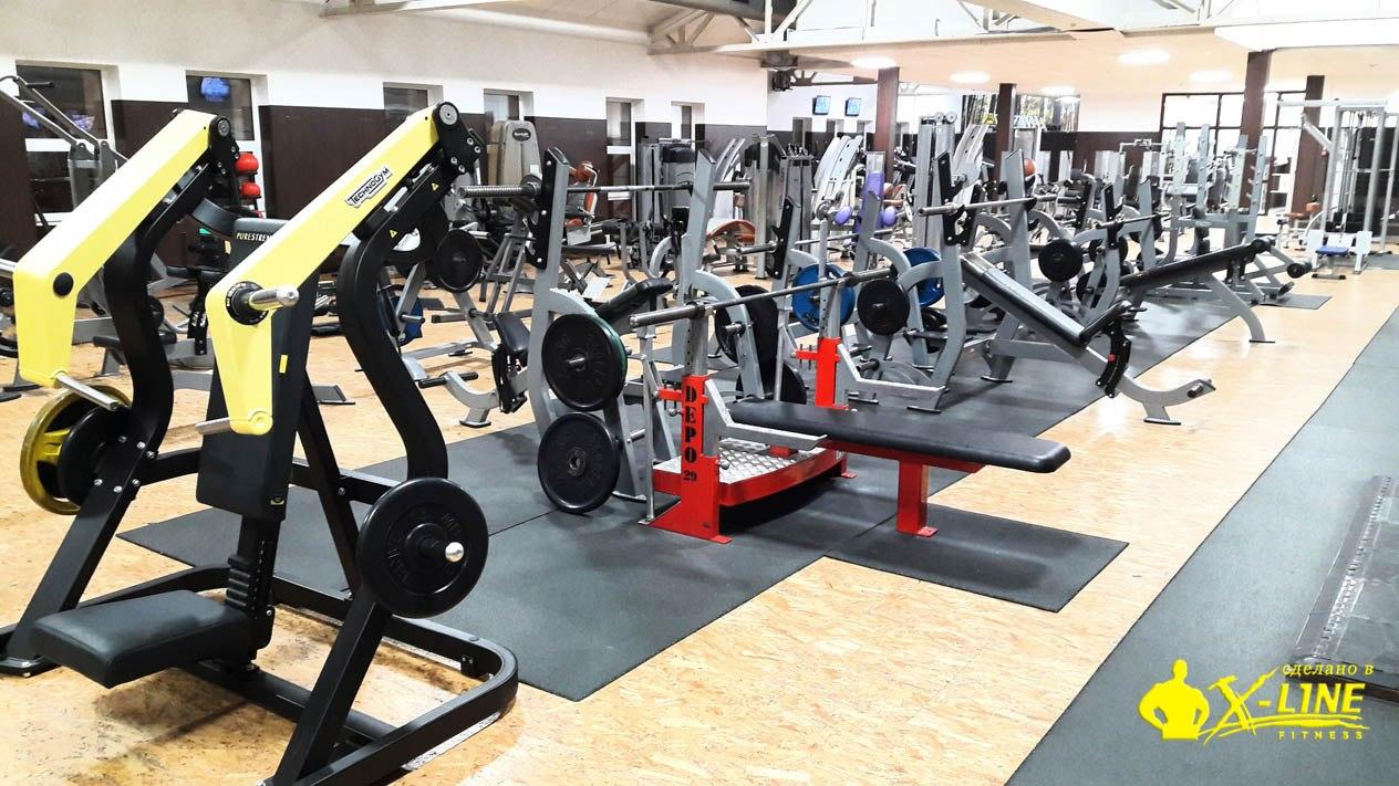 X-line fitness Железнодорожный