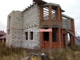 Продаётся: недостроенный коттедж в Новосибирской области.