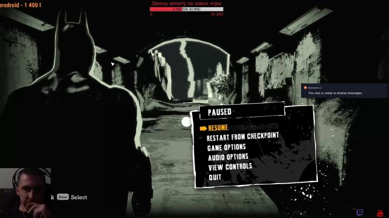 Batman: Arkham Asylum. Бьем морды мордоворотам