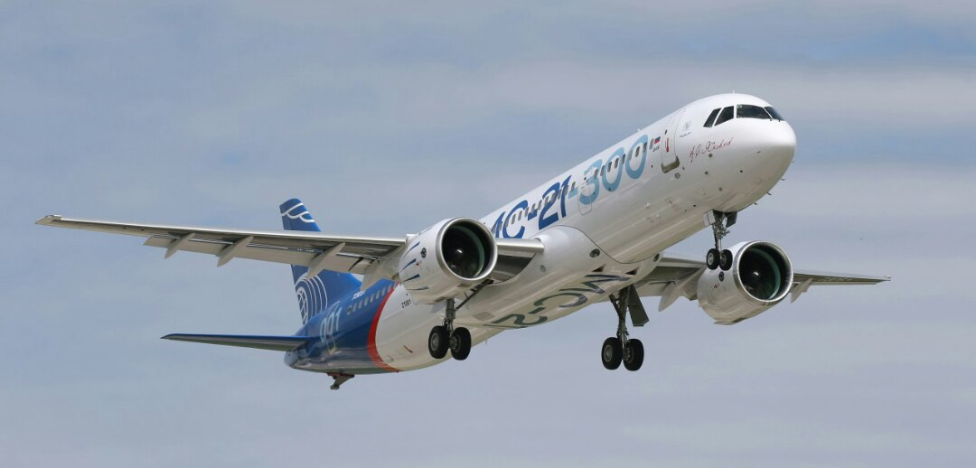 МС-21-300 во второй раз поднялся в воздух